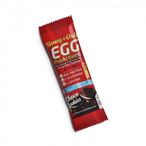 Egg ProActive6 Bar – Energy & Recovery Box (8x80gr)