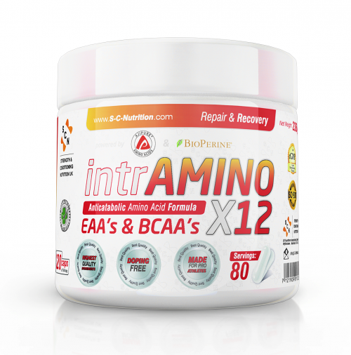 intrAminos x12 - The most effective aminos