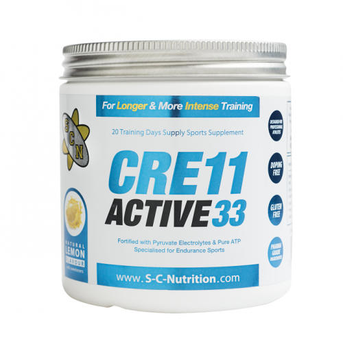 CRE11 Active33 - THE ULTIMATE CREATINE FOR ENDURANCE SPORTS